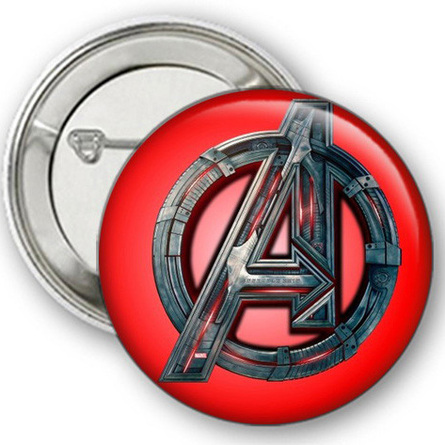 Значок Мстители №4