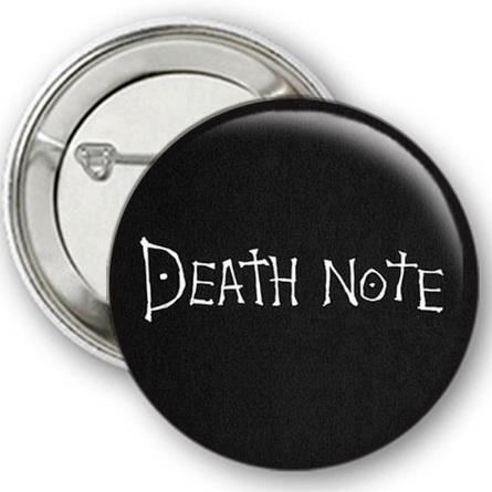 Значок Тетрадь Смерти №2