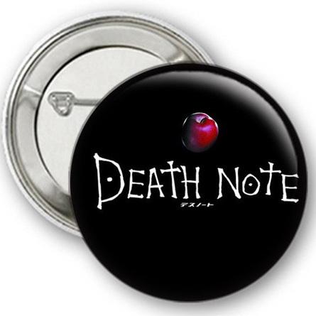 Значок Тетрадь Смерти №15