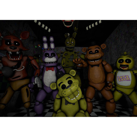Плакат FIVE NIGHTS AT FREDDY'S №1