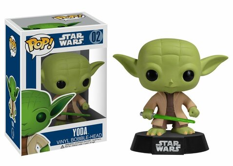 Фигурка Funko POP! Bobble: Star Wars: Yoda 2322