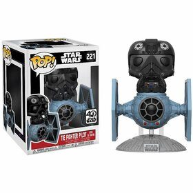 Фигурка Funko POP! Deluxe Vinyl:  Star Wars: Tie Fighter w/ Tie Pilot 20106