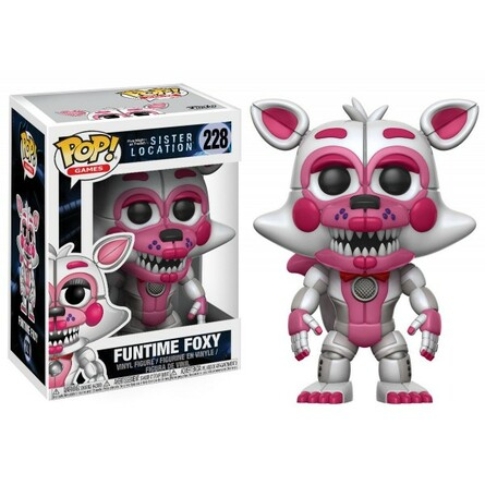 Фигурка Funko POP! Vinyl: Games: FNAF: Sister Location: Funtime Foxy 14062