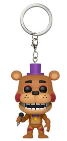 Брелок Funko Pocket POP! Keychain: FNAF:Pizza Sim: Rockstar Freddy 32155-PDQ