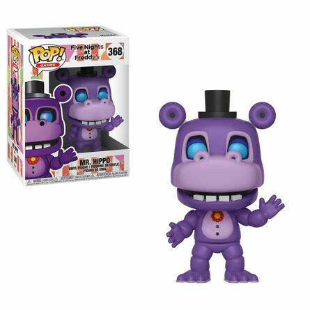 Фигурка Funko POP! Vinyl: Games: FNAF Pizza Sim: Mr. Hippo 32061