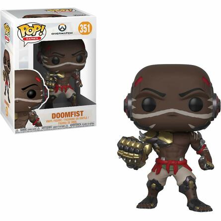 Фигурка Funko POP! Vinyl: Games: Overwatch S4: Doomfist 32282
