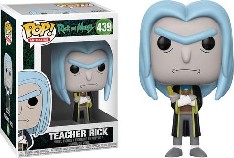 Фигурка Funko POP! Vinyl: Rick & Morty: Teacher Rick 35590