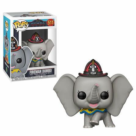 Фигурка Funko POP! Vinyl: Disney: Dumbo (Live): Fireman Dumbo 34216