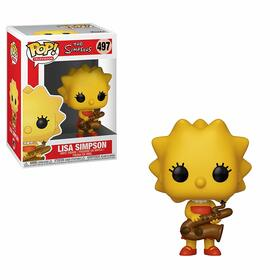 Фигурка Funko POP! Vinyl: Simpsons S2: Lisa-Saxphne 33877
