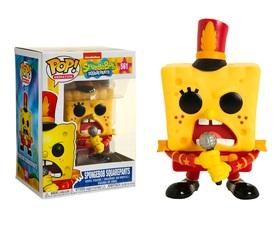 Фигурка Funko POP! Vinyl: Spongebob S3: Spongebob w/Bandoutfit (Exc) 39559