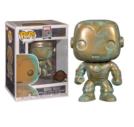 Фигурка Funko POP! Bobble: Marvel: Marvel 80th: Iron Man (PT)(Exc) 42223