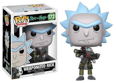 Фигурка Funko POP! Vinyl: Rick & Morty: Weaponized Rick 12439 (CHASE)