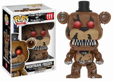 Фигурка Funko POP! Vinyl: Games: FNAF: Nightmare Freddy 11064