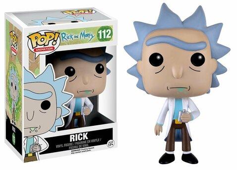 Фигурка Funko POP! Vinyl: Rick & Morty: Rick 9015