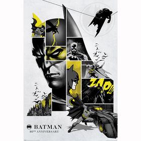 Постер Бэтмен - 80 лет