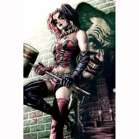 Постер Бэтмен (Харли Квинн)