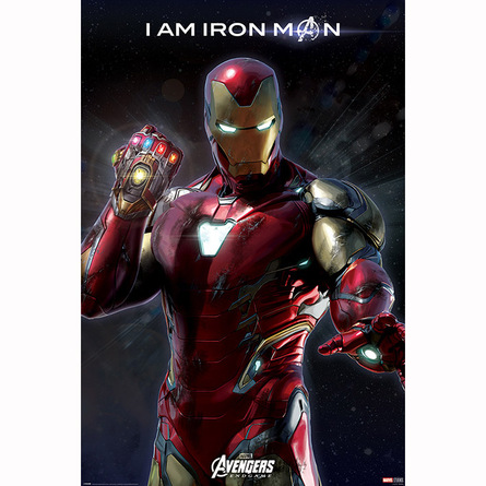Постер Мстители. Финал - Я железный человек