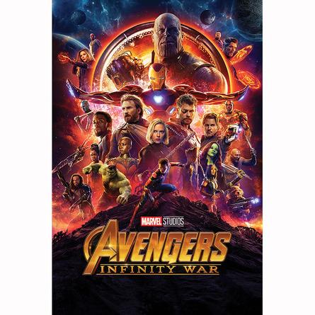 Постер Мстители: Война бесконечности (часть первая)