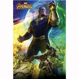 Постер Мстители : Война бесконечности (Танос)