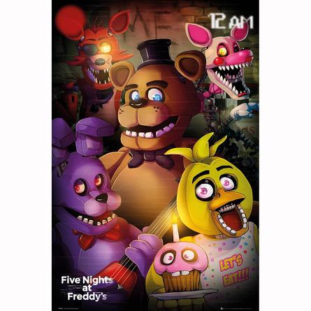Постер Пять ночей с Фредди