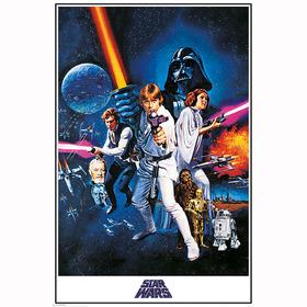 Постер Звездные Войны - Новая надежда
