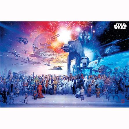 Постер Звездные Войны - Вселенная