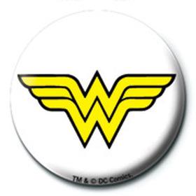 Значок DC Comics (Чудо-Женщина лого) 25 мм