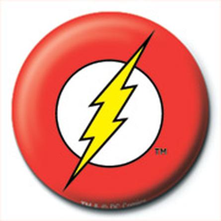 Значок DC Comics (Флэш Лого) 25 мм