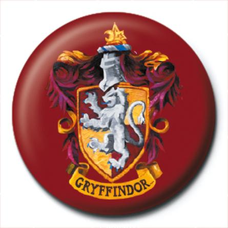 Значок Гарри Поттер (Герб Гриффиндор) 25 мм