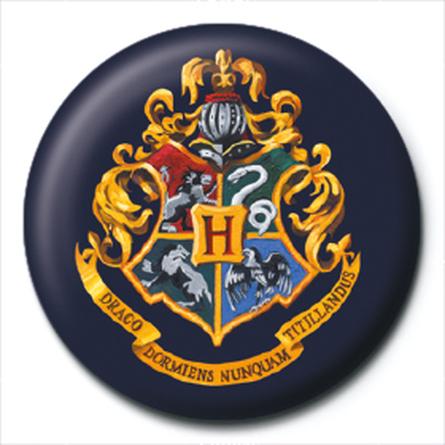 Значок Гарри Поттер (Герб Хогвардс) 25 мм