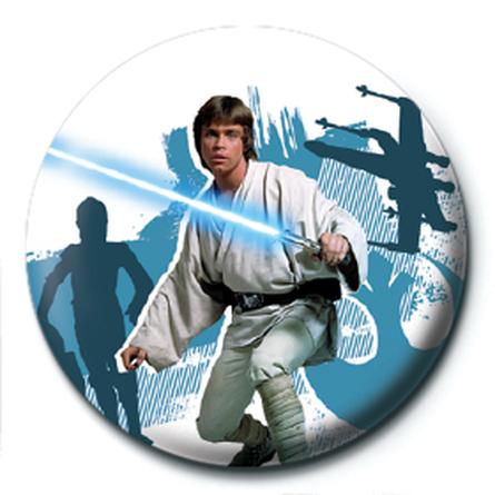 Значок Звездные Войны (Нападение Люка) 25мм