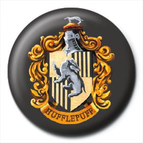 Значок Гарри Поттер (Герб Хаффлпафф) 25 мм