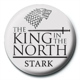 Значок Игра Престолов (Король Севера) 25 мм